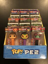 Funko Pop Pez Masters Of The Universe Set W/ Display No Chases He-man Skeletor