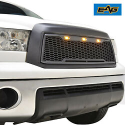 Eag Led Grille Abs Replacement Upper Honeycomb Fit 10-13 Toyota Tundra