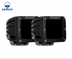 Rigid Industries 502393 3x3 Size D-series Infrared Driving Surface Mount Pair