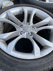 Audi 2016 Oem Wheels And Tires 18 Inch In Great Shape