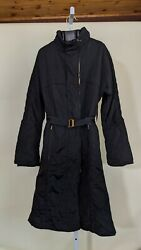 Aw 2004 Padded Windbreaker Trench Jacket Belted Tom Ford Runway 44 Italy