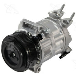 A/c Compressor And Clutch- New Four Seasons 168397