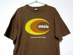 Vintage 90and039s Oasis Dand039you Know What I Mean T-shirt 90usaanvil Body