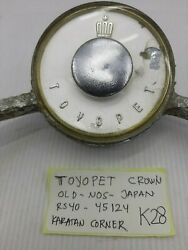 Toyopet Crown Rs40 1964 Ring Horn Button Nos Japan Rare