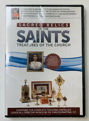 Sacred Relics Of The Saints Treasures Of The Church Dvd. New Sealed.