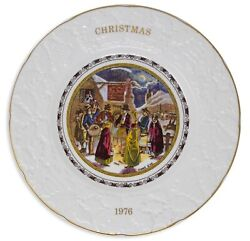 Margaret Thatcher Personally Owned Christmas Plate