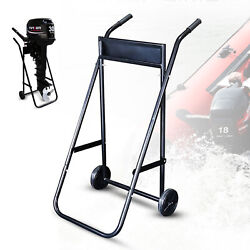 Outboard Motor Trolley Carrier Cart Boat Engine Trolley Stand Capacity 70kg