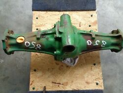 John Deere 850 4x4 Front Mfwd Differential Good Ring And Pinon
