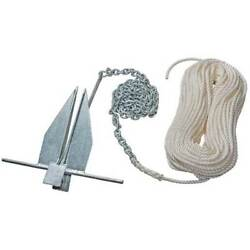 West Marine Performance2 12 Lb Anchor/rode Kit 200'-rope 15'-chain 15067143