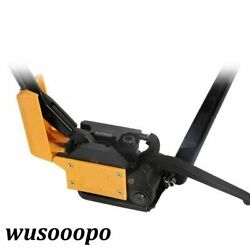 1pcs A333 Free Buckle Metal Baler 13-19mm Steel Strapping Machine