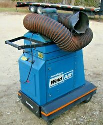 Aercology Wv-4000 Portable Fume/welding Smoke Filter Cartridge Collector 1 Phase
