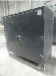 Stronghold 6536g Double Shift Industrial Storage Cabinet 72'' X 36'' X 72