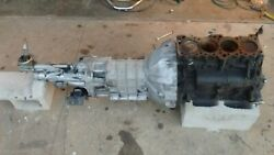 Mitsubishi 4g64 Wide Block And Rx7 T2 Transmission With Adapter Bellhousing