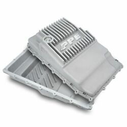 Ppe Raw Aluminum Deep Transmission Pan 17-19 Ford F-150 With 10r80 Transmission