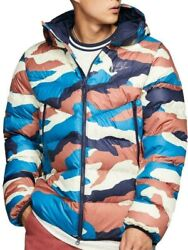 New Nike Sportswear Printed Hooded Puffer Jacket Down Fill Camo Windrunner Sizes
