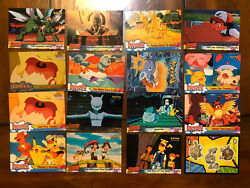 1997 Pokemon The First Movie 16trading Cards