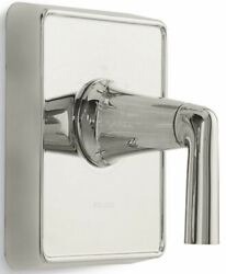 P23222-lv-ag Kallista Counterpointandreg Thermostatic Valve Lever Brushed Nickel