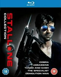 Stallone Blu-ray Collection Cobra / Assassins / Tango And Cash / The Specialist
