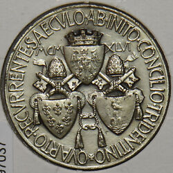 Vatican 1945 Medal Pius Xi-paul Vi From 1922 To 1978 Pius Xii 1939/1958 1945 Y