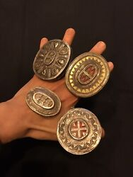 Antique Khazak Silver Jewelry Ring Handmade Cultural Ceremony Vintage Ring
