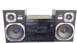 Pioneer Rx-z71 Sterio Amplifiertape Player And Equalizer Unit And S-z71d Speakers