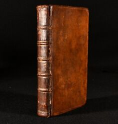 1753 The Compleat Housewife 15th Edition E Smith Cookery Scarce