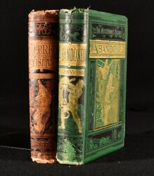 1876 2vol Jules Verne The Mysterious Island Abandoned The Secret Of The Islan...