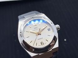 Ingenieur Midsize 34mm Iw4515 Stainless Steel Silver Dial Automatic Watch