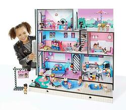 Lol Surprise Wooden Doll House And 85+ Surprises New