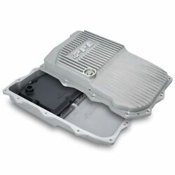 Ppe Aluminum Shallow 850re Raw Transmission Pan For 18-20 Jeep Wrangler Jl Jt