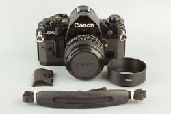 Canon A-1 A1 With New Fd 50mm F1.4 35mm Slr Film Camera Black 96