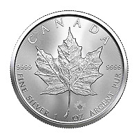 Lot Of 25 X 1 Oz 2021 Canadian Maple Leaf Silver Coin