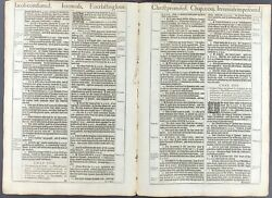 1611 King James Bible Leaf Jer 32 I Will Give Them One Heart And One Way 1613 Ed
