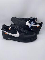 Nike Air Force 1 Low Off White Black A04606-001 Size 15