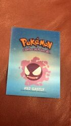 Extremely Rare Pokemon Evolving Card Gastly/haunter/gengar