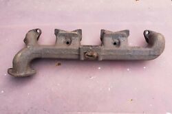 1946 1947 1948 1949 1950 Plymouth Dodge Exhaust Manifold New Old Stock No Cracks