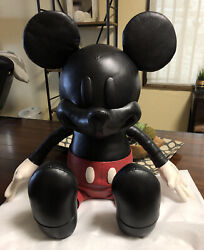 Coach X Disney Leather 26 Medium Mickey Mouse Doll Collectible Limited Edition