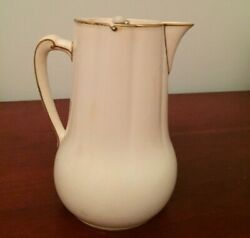 Vintage Minton Syrup Pitcher Metal Lid Made For Wright Tyndale And Van Roden