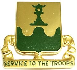 Us Army Crest Di/dui Pin 519th Military Police Battalion