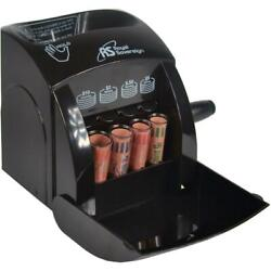 Commercial Manual Coin Counter Sorter Machine Fast Sorting Money Change Wrapper