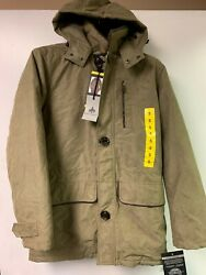 Mens Rainforest Heritage Micro Oxford Thermoluxe Fill Parka Jacket | K51