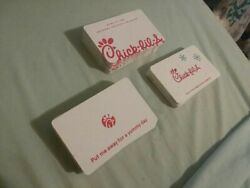 Chick-fil-a Gift Card, Empty, Collectible Random Card. Message For Requests.
