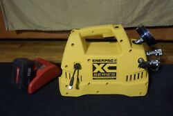 Enerpac Model Xc1502t Xc Series Torque Wrench Pump With Battery And Charger