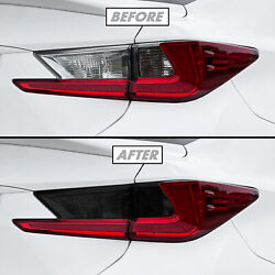 For 15-18 Lexus Rc F Tail Light Turn Signal And Reverse Precut Smoke Vinyl Tint