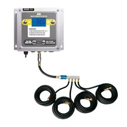 Esco 10965-k Tire Inflator Aluminum Wall Mounted W/ Digital Display And Clip On