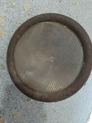 Vintage Ford Model T 1926 Bucket And Overland Monogram Lens For Parts Or Repair