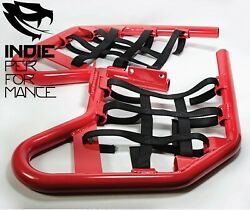 Red Painted Nerf Bars Suzuki Ltr 450 All Models Free Shipping Ltr450 Net Black