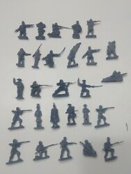 Huge Lot Of 27 New Handmade By Pope 54mm Civil War Figurines Abraham Lincoln