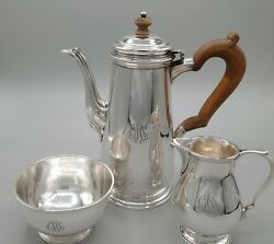 And Co Sterling Service Set 22938 1.5 Pint Pot Cream Sugar