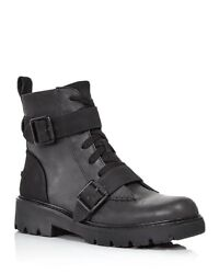 Ugg Womens Noe Ankle Boots Black Size 8